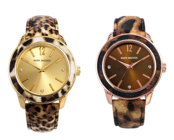 relojes mark maddox animal print