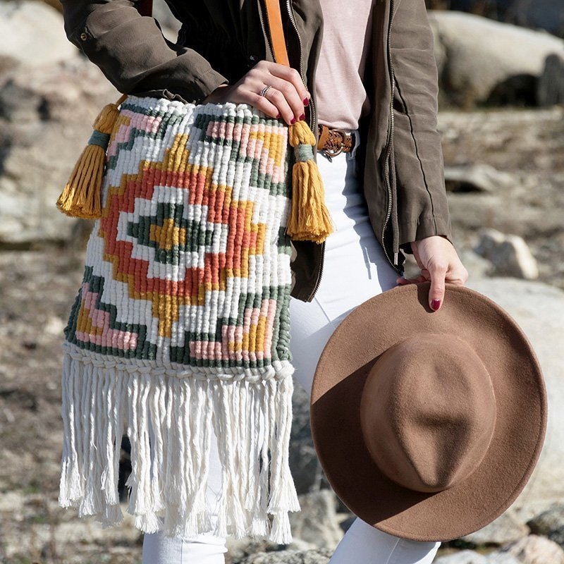 Kit mapuche bag