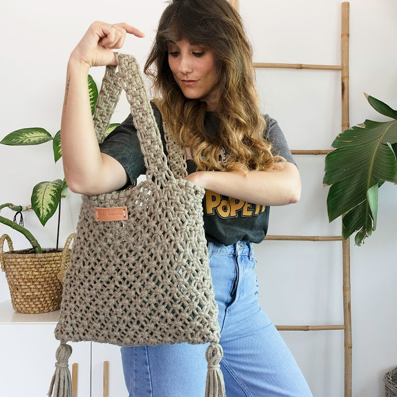 Kit DIY Bolso macramé Summer